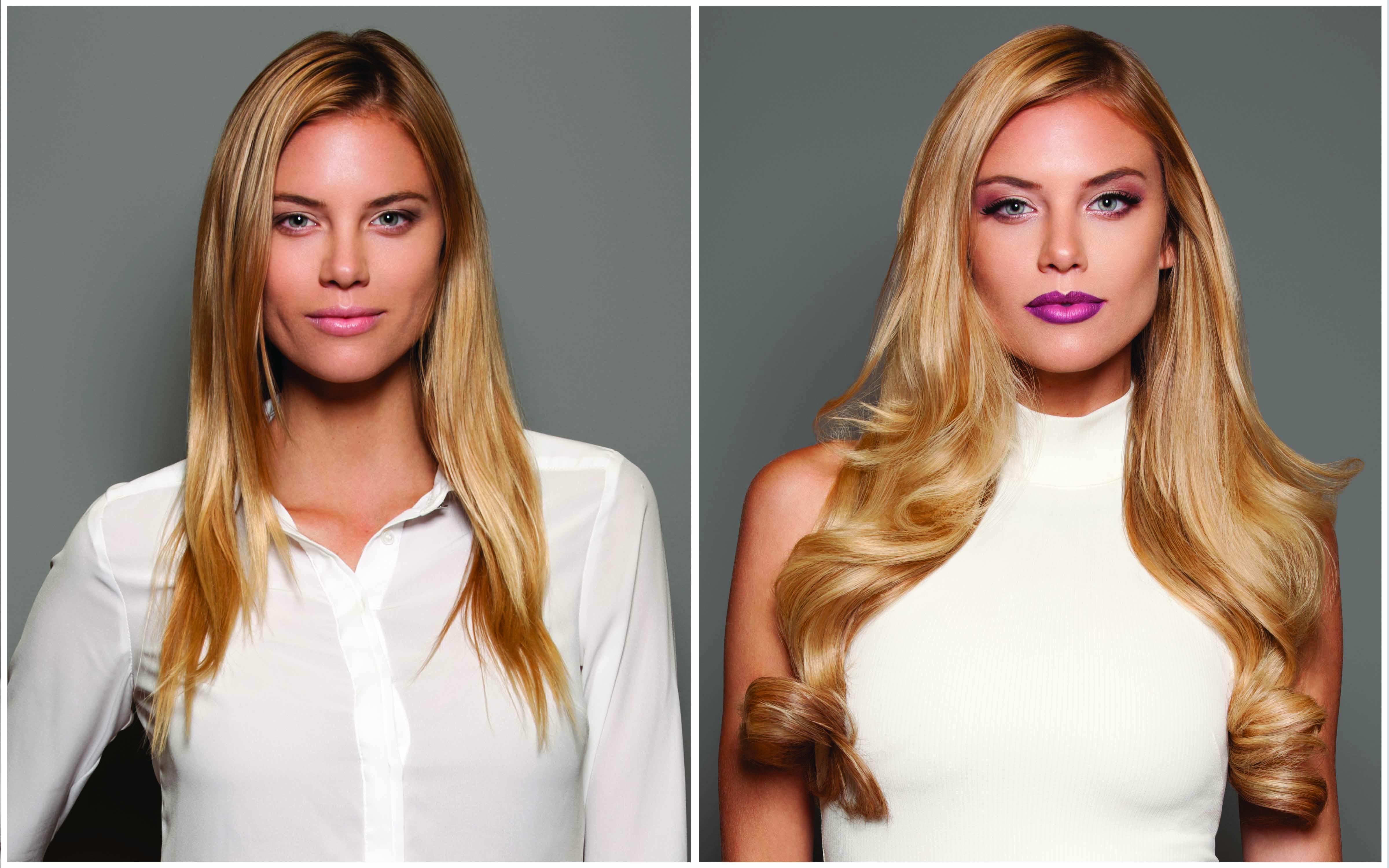 hairtalk hair extensions blonde