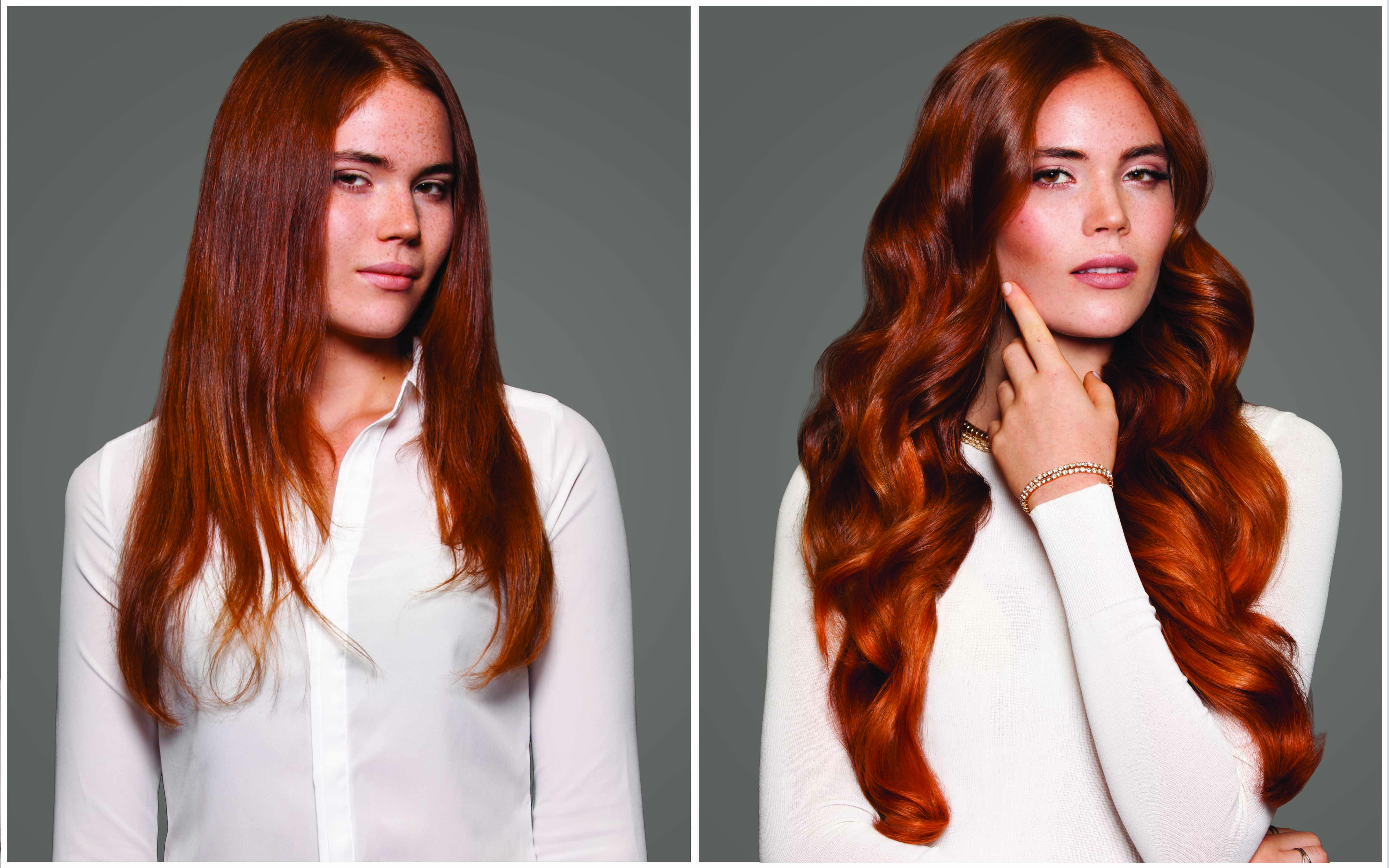 hairtalk hair extensions example red hair
